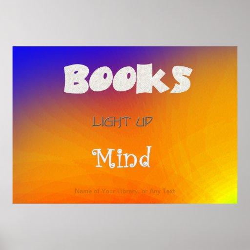 Books Enlighten Poster