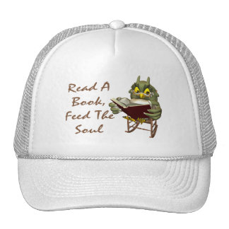 Books Feed The Soul Wise Owl Cap