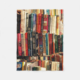 Books Fleece Blanket