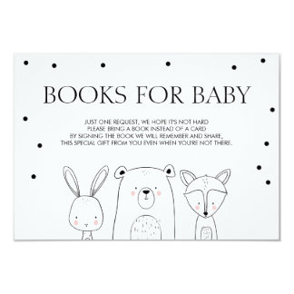 Books for baby Bring a book Woodland Animals Fox Card