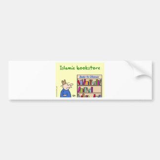 books for dhimmis islamic bookstore bumper sticker