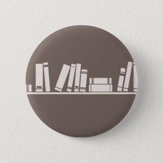Books lovers! 6 cm round badge
