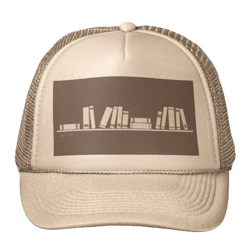 Books lovers! mesh hat