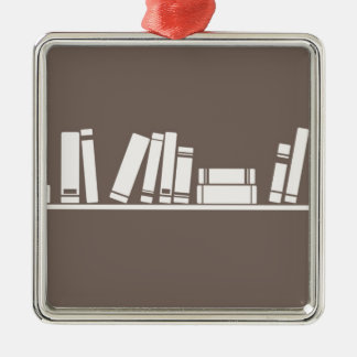 Books lovers! metal ornament