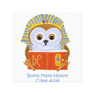 Books Make History Come Alive Canvas Prints