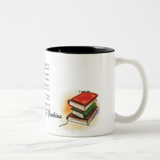 books  , music sheet, I want you, read, music... Two-Tone Coffee Mug