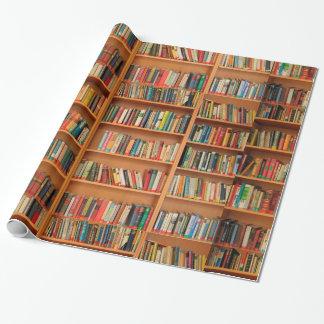 Books on Bookshelf Background
