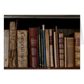Books on Open Shelf Card