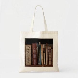 Books on Open Shelf Tote Bag