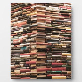 Books Plaque