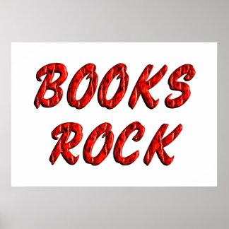 Books ROCK Poster