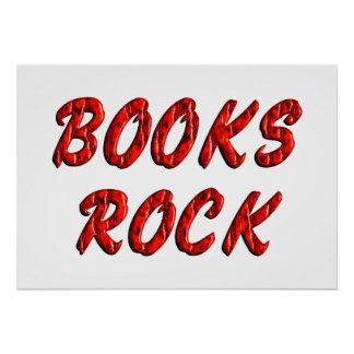 Books ROCK Posters