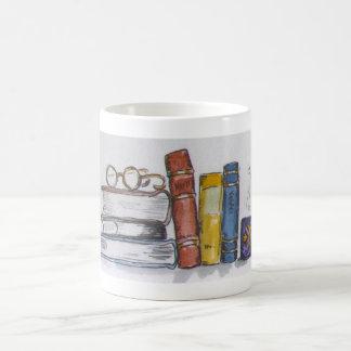 Books & Tea Coffee Mug