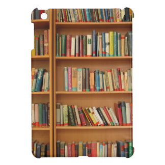 Bookshelf background iPad mini cover