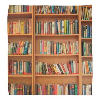 Bookshelf Books Library Bookworm Reading Bandana
