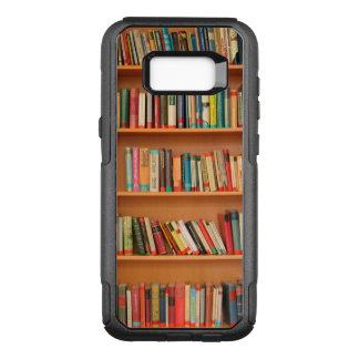 Bookshelf Books Library Bookworm Reading OtterBox Commuter Samsung Galaxy S8+ Case