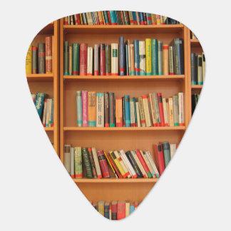 Bookshelf Books Library Bookworm Reading Plectrum