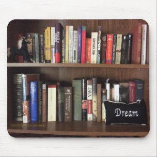 Bookshelf Dream Mouse Pad