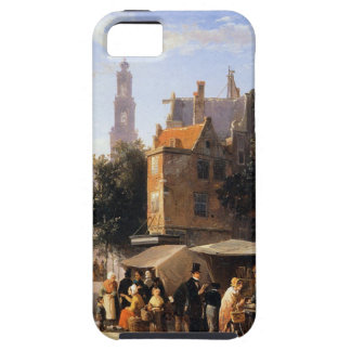 Bookstall on the Noordermarket by Cornelis Springe Case For The iPhone 5