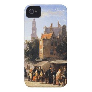 Bookstall on the Noordermarket by Cornelis Springe iPhone 4 Case-Mate Case