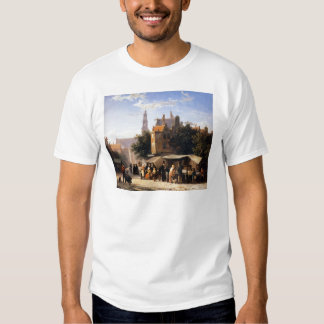 Bookstall on the Noordermarket by Cornelis Springe Tee Shirts