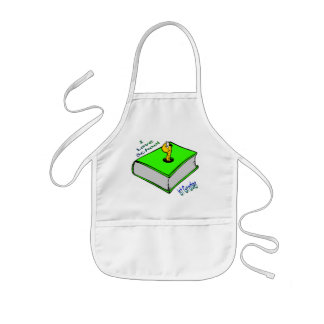 Bookworm 1st Grader - I love School Aprons