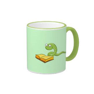 Bookworm Coffee mug two tone