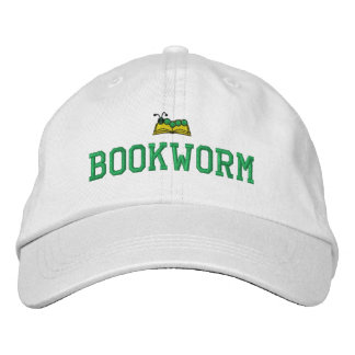 Bookworm Embroidered Hat