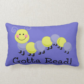 Bookworm Gotta Read Throw Pillow
