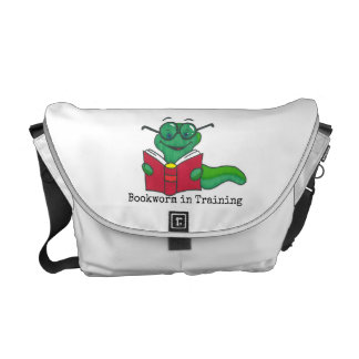 Bookworm in Training Diaper Bag Commuter Bag