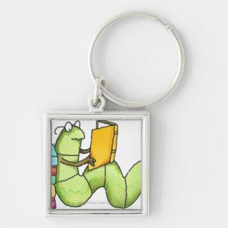 Bookworm Key Ring