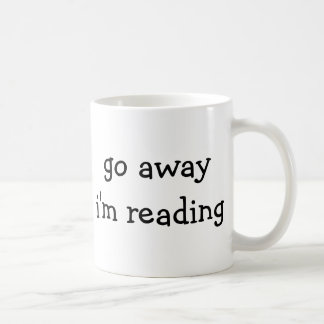 Bookworm Mug - Go Away I'm Reading
