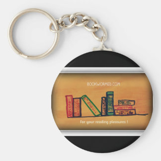 Bookwormed Keychain - For Your Reading Pleasures !