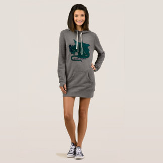 Bookwyrm Book Hug Reading Dress Hoodie