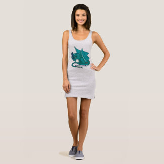 Bookwyrm Book Hug Reading Dress Tank