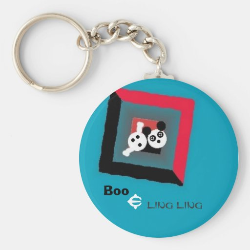 BooLingLing, Boo, &, Ling Ling Key Chain
