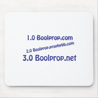 Boolprop Moves Mousepad
