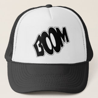 boom-147866 BOOM EXPLOSIONS COMIC FONT SHOUT EXPRE Trucker Hat