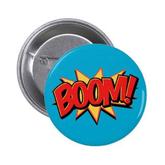Boom -516 6 cm round badge