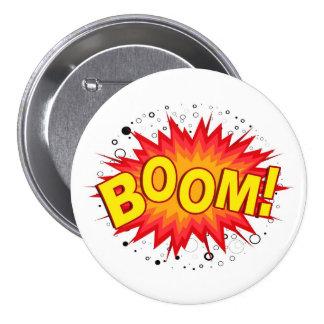 Boom! 7.5 Cm Round Badge