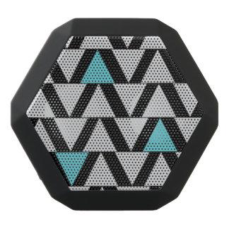 Boom Box Aqua & Gray Graphic Black Bluetooth Speaker