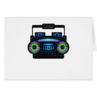Boom Box by Chillee Wilson Card