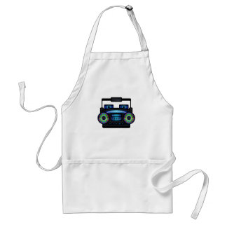 Boom Box by Chillee Wilson Standard Apron
