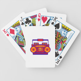 Boom Box Extreme Bicycle Playing Cards