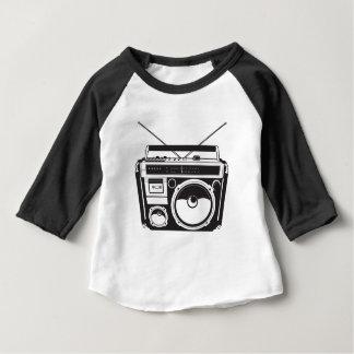 ☞ boom box Oldschool/cartridge player Baby T-Shirt