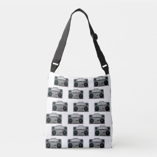 Boom Box Pattern Bag