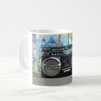 Boom Box Radio Mug