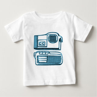 Boom Boxes Old School Technology T Shirt