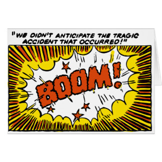 BOOM! -- CARD