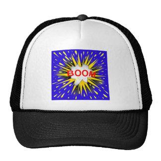 Boom Cartoon Bubble Cap